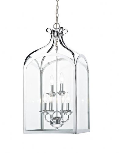 Senator 6-light Polished Chrome Pendant Ceiling Light SEN0650